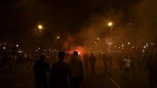 Champions: a Parigi scontri tra tifosi Psg e polizia