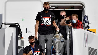 """""""Triple 2020"""": ilBayerntorna a casa, ma niente accoglienza dei tifosi"""