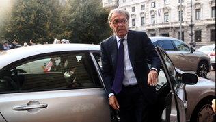 """Moratti ottimista: """"Conte dovrebbe restare, Zhang spinto a tenerlo"""""""