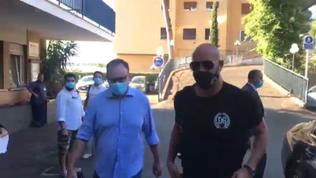 Lazio, ecco l'arrivo di Reina