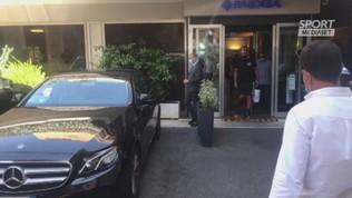 Lazio, terminate le visite di Reina