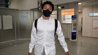 "Juve,McKennie è sbarcato a Torino: ""Welcome"""