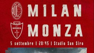 Milan-Monza, l'amichevole dei ricordi in diretta su Mediaset