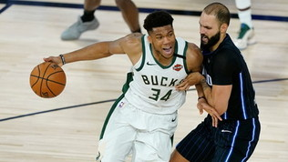 NBA, si riparte da Bucks-Magic: il nuovo calendario playoff