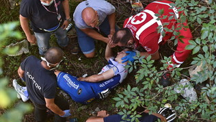 Evenepoel, Uci apre inchiesta su video sospetto dopo la caduta