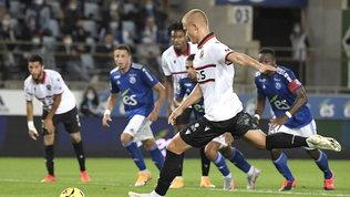 Nizza a punteggio pieno con Dolberg | Vince anche il Rennes