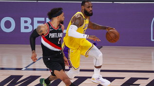 Milwaukee torna in campo ed elimina Orlando, i Lakers fanno fuori Portland