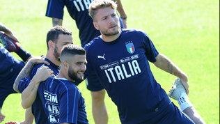 Mancini studia l'Italia: Chiellini e Belotti titolare contro la Bosnia
