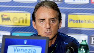 """Mancini: """"L'Italia può crescere ancora, teniamo alla Nations League"""""""
