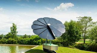 Energia pulita da un maxi fiore. Ecco l'idea