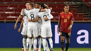 Gaya risponde a Werner, pari per la Spagna all'ultimo respiro
