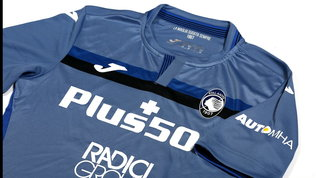 Atalanta, presentata la terza maglia: c'è il profilo della nuova Curva Nord