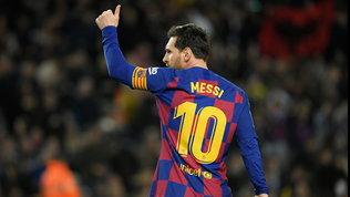 """Messi resta al Barça: """"Il club della mia vita, mai per vie legali"""""""