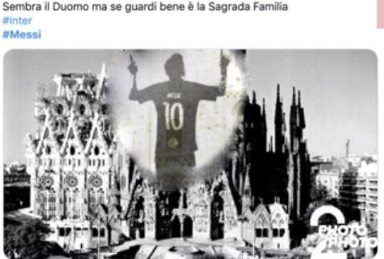 Leo Messi ha annunciato ufficialmente che rester&agrave; al Barcellona e i social sono stati subito invasi da meme e sfott&ograve;. Una ricca carrellata di fotomontaggi, dalla Silhouette&nbsp;della Pulce sul Duomo di Milano alla delusione del City per il colpo sfumato....<br /><br />