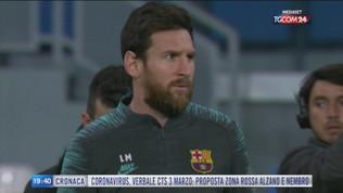 """Messi: """"Resto al Barcellona"""""""