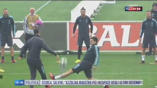 Portogallo, Ronaldo in dubbio