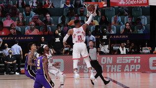 Nba: gli Heat battono ancora i Bucks, ottimo esordio nella serie dei Rockets sui Lakers