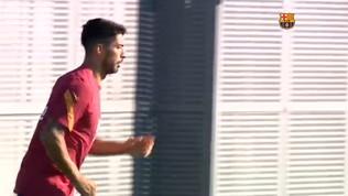 Vidal-Suarez, allenamento da... separati in casa