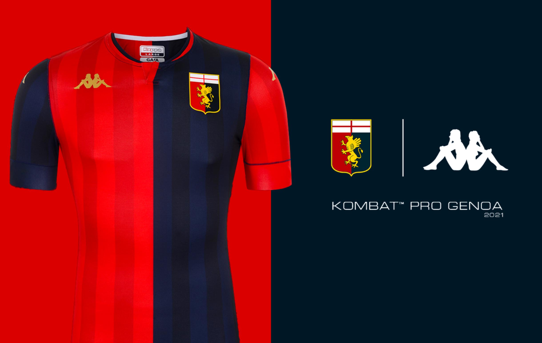 Nel giorno del 127&deg; compleanno della societ&agrave;, il Genoa presenta la nuova prima maglia per la stagione 2020/21 con &quot;il blu del mare e il rosso dell&#39;amore&quot; come da comunicato dei rossobl&ugrave;. La divisa &egrave; firmata Kappa&nbsp;ed &egrave; contraddistinta da tessuti ultraleggeri e cuciture stretch per dare pi&ugrave; elasticit&agrave; e comfort.<br /><br />