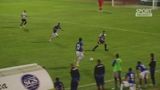 Amichevole, gli highlights di Derthona-Sampdoria 0-3