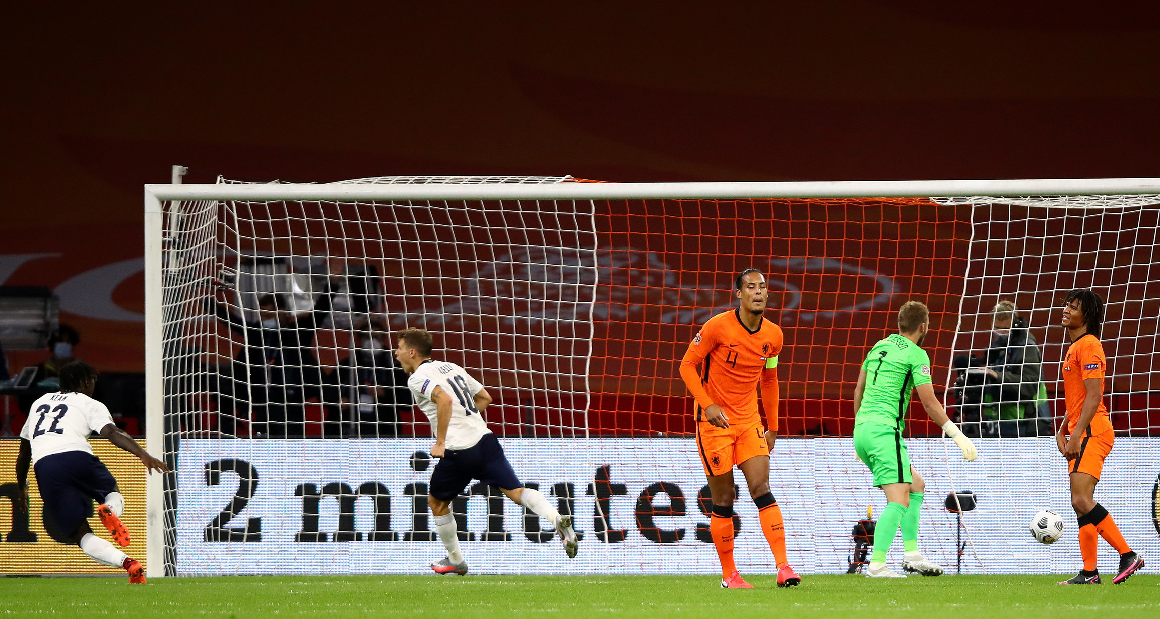 Le migliori immagini di Olanda-Italia 0-1<br /><br />