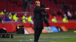 """Mancini: """"Ragazzi straordinari, mi è piaciuta la mentalità. Bene il 4-3-3"""""""