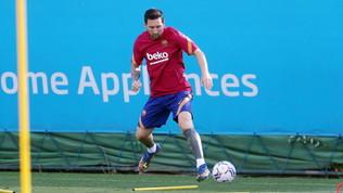 Il Barça riabbraccia Messi: Lionel torna ad allenarsi
