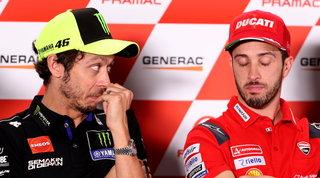 """Clamoroso dalla Germania: """"Rossi verso il ritiro, Dovi in Yamaha"""""""