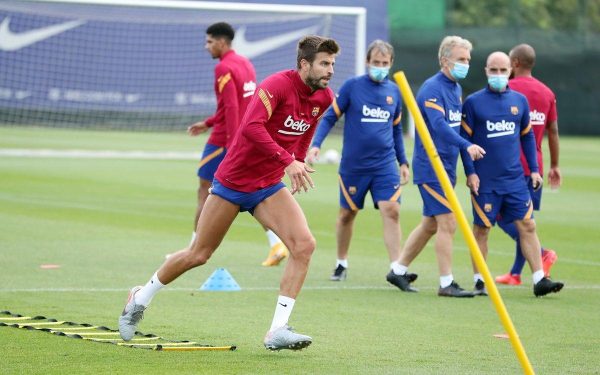 Barcellona: Suarez e Vidal si allenano in attesa di ...