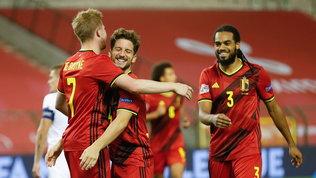 Il Belgio cala la manita, stop Inghilterra, CR7 show col Portogallo