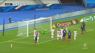 Francia-Croazia 4-2: gli highlights