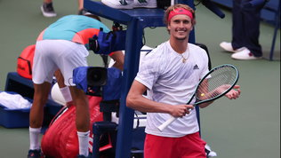 US Open: Zverev batte Coric e vola in semifinale