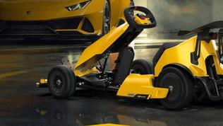 Anche il go kart diventa elettrico con una Lamborghini