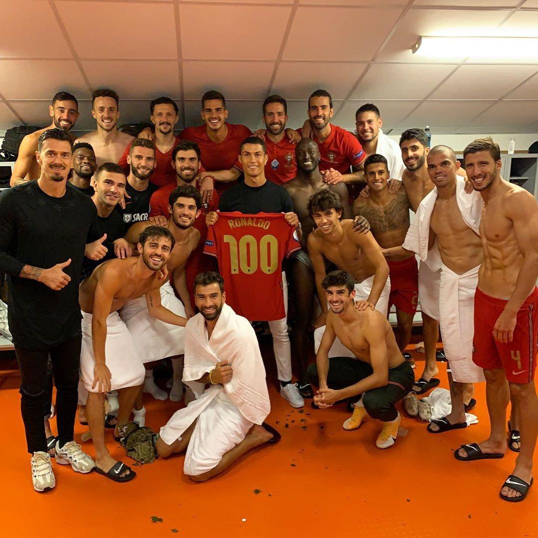 """Ronaldo celebra su Instagram i 101 gol col Portogallo: """"Traguardo storico"""""""