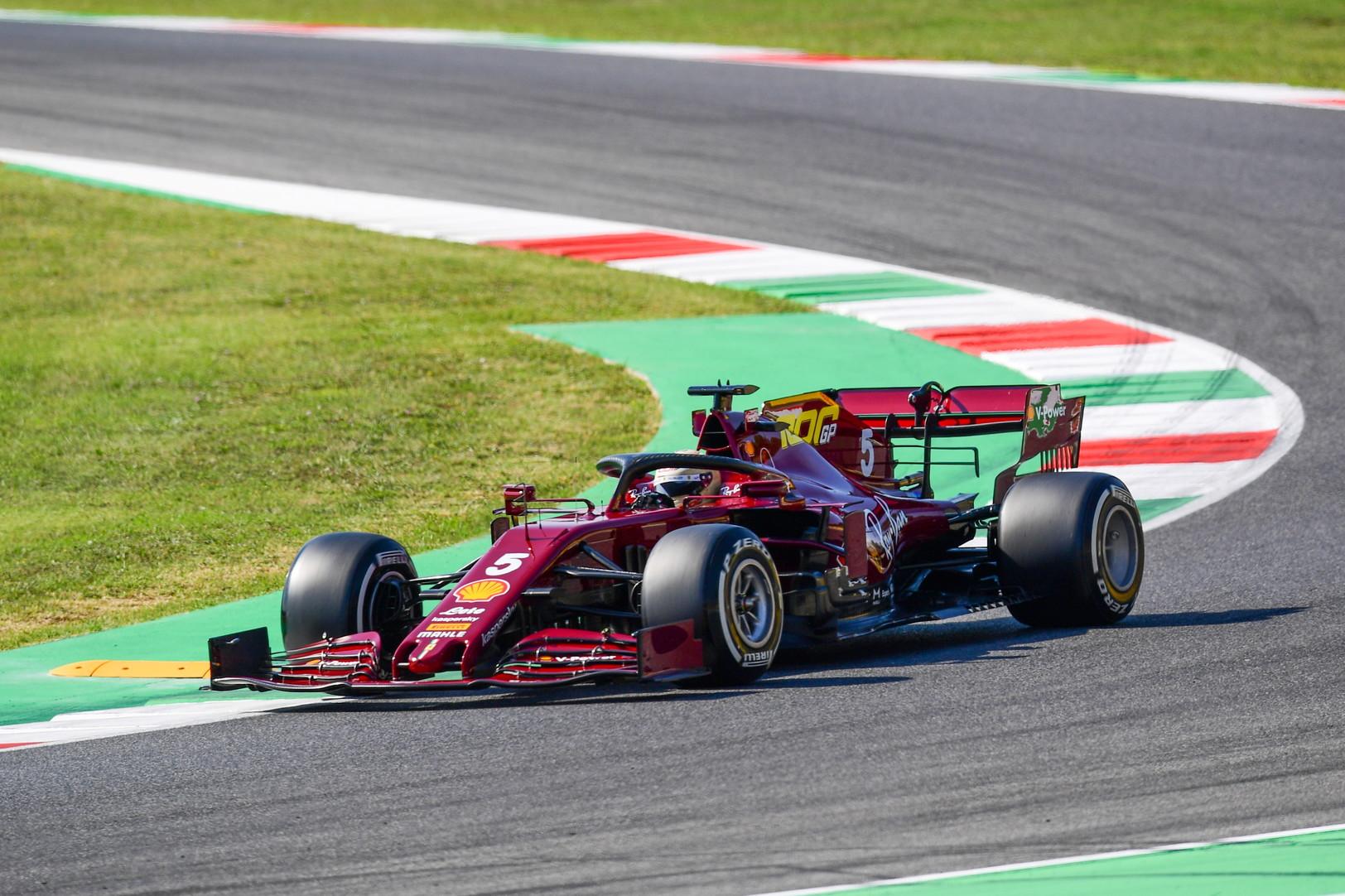 Piloti in pista per la prima giornata di prove libere sul tracciato toscano della Ferrari.<br /><br />