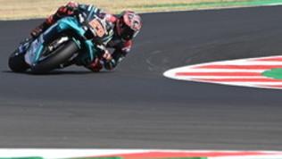 Quartararo davanti a Morbidelli, Rossi ok