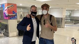 """Higuain è arrivato a Miami: """"Benvenuto a un grande campione"""""""