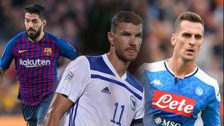 Juve, manca ancora la punta:la situazione da Suarez a Dzeko