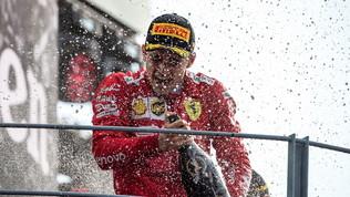 Ferrari e Ferrari, brindisi con le bollicine per il 1000° GP Rosso