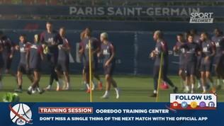 Psg, Florenzi si allena con Neymar e compagni
