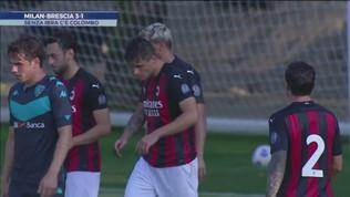 Il Milan già in forma, stende il Brescia