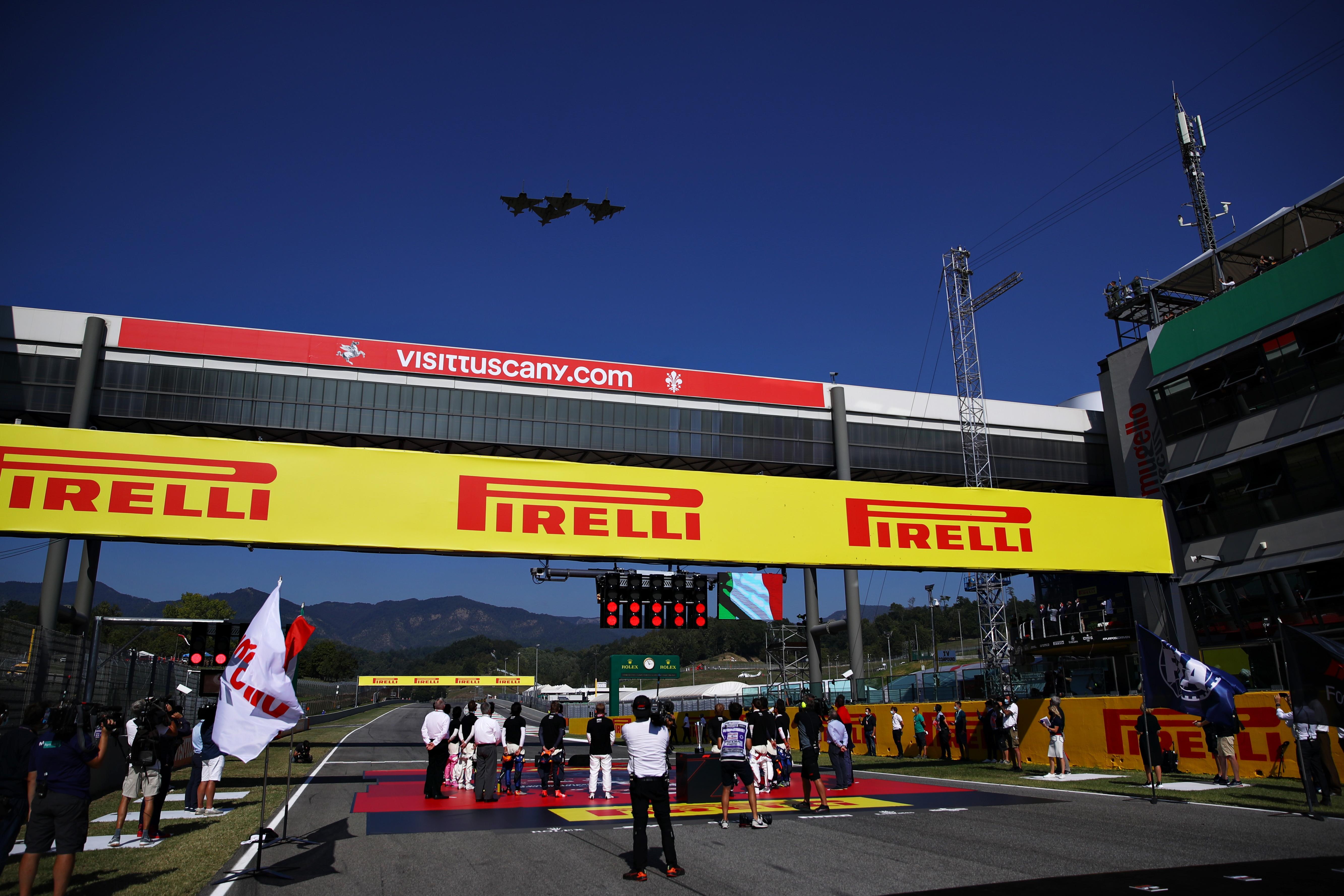 Doppietta Mercedes con Hamilton e Bottas nel primo GP di F1 sul tracciato toscano.<br /><br />
