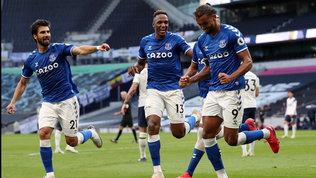 Ancelotti, subito uno sgambetto a Mou: l'Everton passa in casa Tottenham