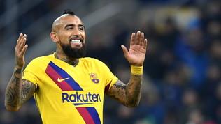 Vidal si è liberato dal Barça: a inizio settimana sbarca a Milano