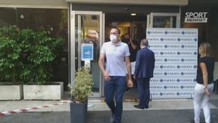 Lazio, Muriqi dopo le visite mediche