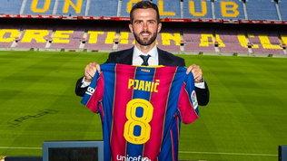 """Pjanic: """"Dura lasciare la Juve ma volevo nuovi stimoli. Sicuro di giocare con Messi"""""""