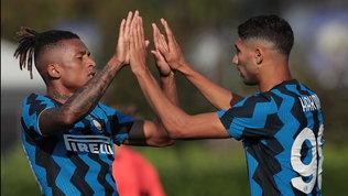 Inter, 5-0 al Lugano in amichevole