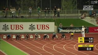 Tortu fa 10''07, miglior tempo europeo dell'anno