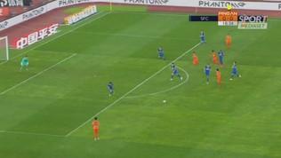 Cina, il gol di Pellé non basta