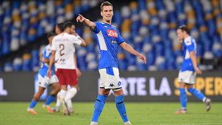 Milik non si allena, l'agente a Roma: si sblocca anche Dzeko-Juve?